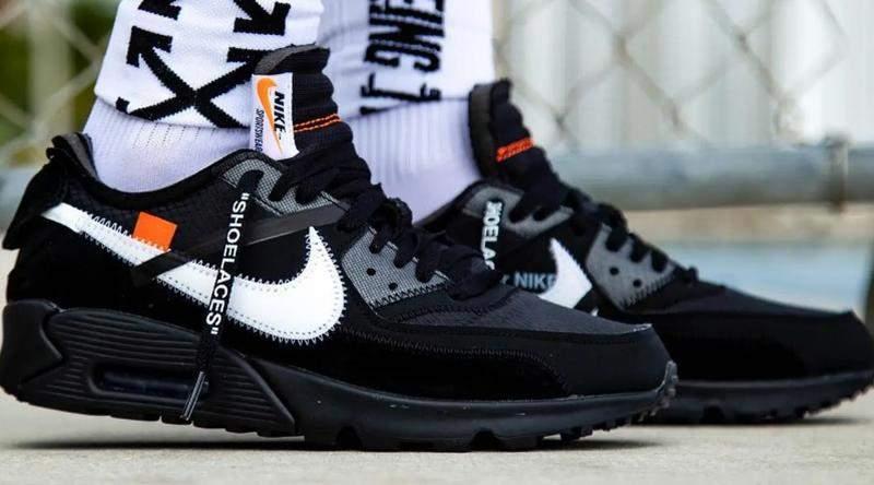 Nike air max 90 off white black R$ 249.00 SHAFA The Best of Women's Fashion  SHAFA O melhor da moda feminina