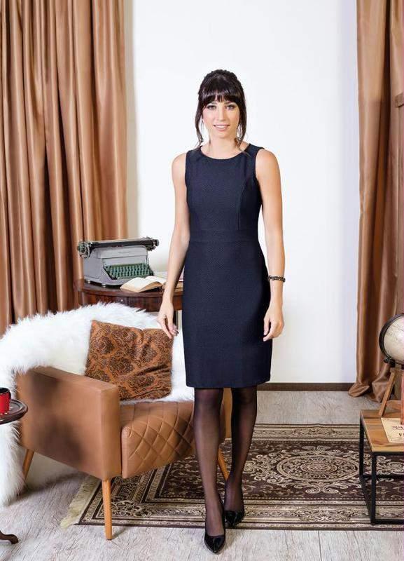 4676a33a4 Vestido tubinho preto - R$ 69.99 (decotado, sem manga, de poliester ...