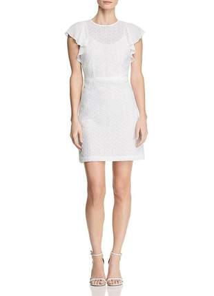 Vestido de festa branco michael kors de renda original tam. 4 novo de luxo