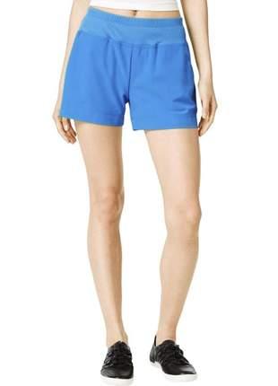 Shorts de corrida feminino calvin klein running fitness azul m