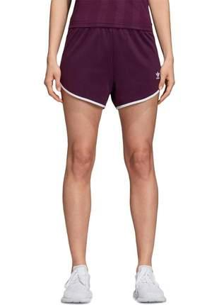 Shorts de corrida feminino adidas originals m