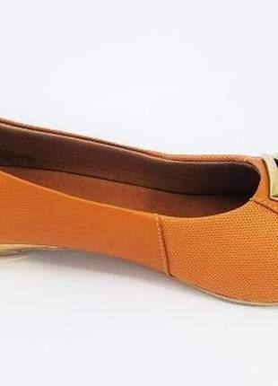 4d0f5893fa ... Sapato feminino tamanho grande peep toe usaflex whishey numeração  especial 40