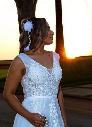 Vestido de noiva modelo catarina
