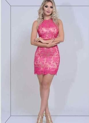 b96287aac Vestido de tule bordado - compre online, ótimos preços   Shafa