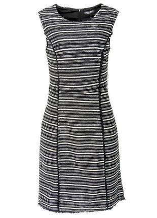 Vestido infinity fashion tweed preto