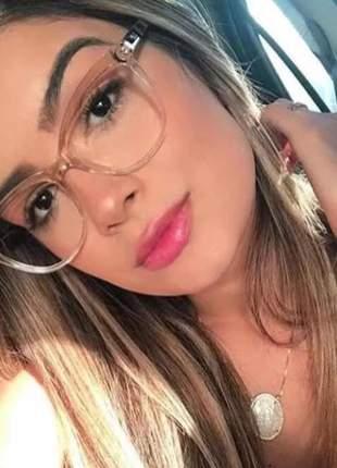 Óculos para grau acetado dourado