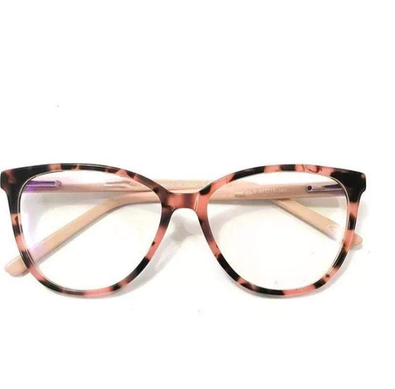 25a32de3e Óculos para grau rosa onça transparente nude - R$ 170.00 #20006 ...