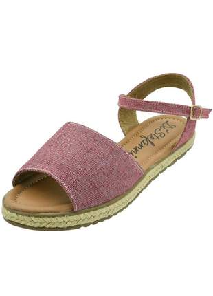 Sandália c/ corda di stefanni vermelho jeans