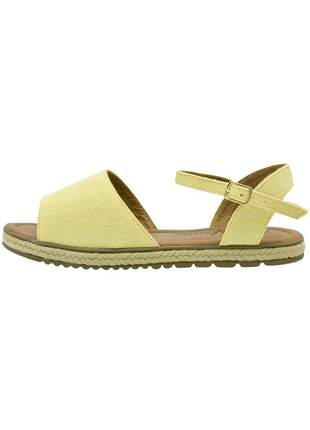 Sandália c/ corda di stefanni amarelo jeans