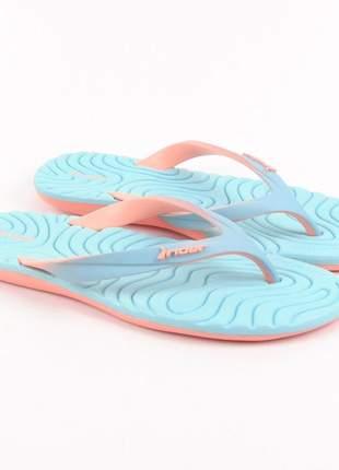 Sandália feminina rider rasteira chinelo barato tamanho grande moda praia piscina