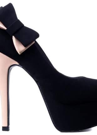 Sapato feminino meia pata