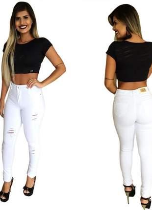 b68c50adc Calça branca - R$ 159.90, tamanho 42, cor Branco #1023, compre agora ...