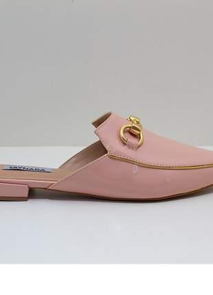 Mule bico fino rosa