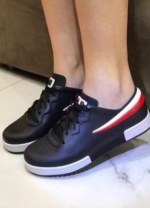 Tênis melissa sneaker + fila preta