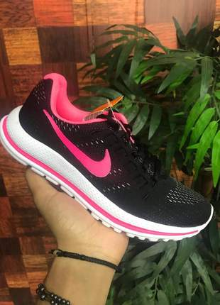 Nike mens air zoom vomero 12 preto pink