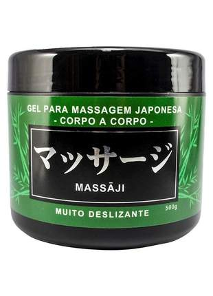 Gel para massagem japonesa corpo a corpo massaji - 500g