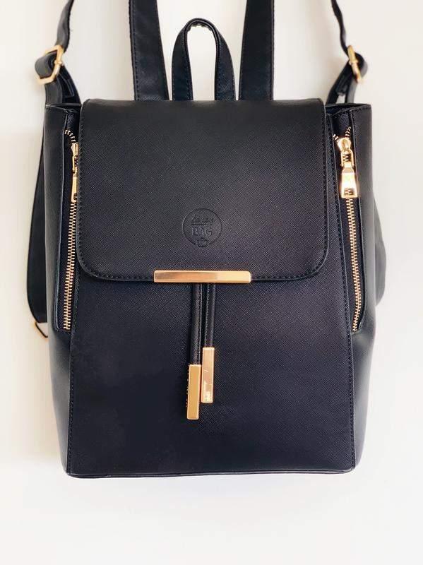 253cb4360 Mochila vienna preta de couro sintético - R$ 299.90 (escolar) #20850 ...