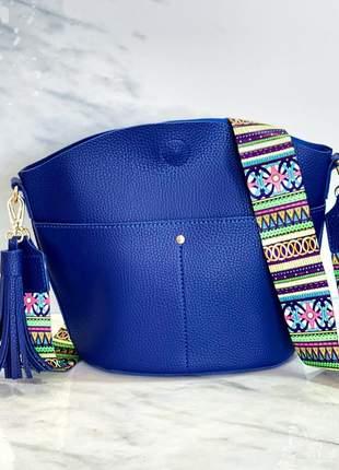 Bolsa malibu azul royal