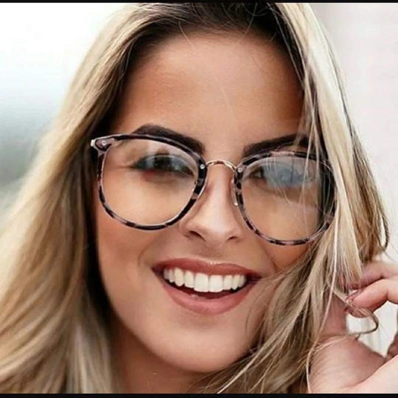 039e9e49d Óculos tendência nova moderna sem grau feminino - R$ 120.00 #20940 ...