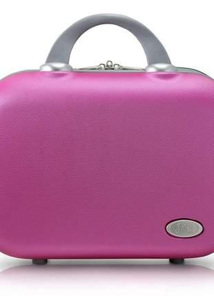 Frasqueira de viagem rosa pink