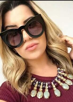 a77d8ad65 Óculos de sol espelhado feminino lente rosa verão 2019 praia moda