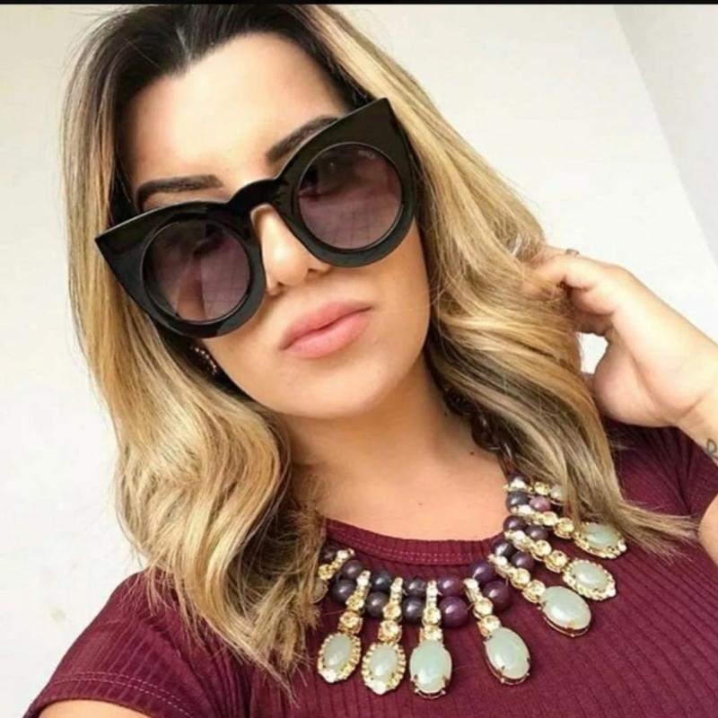 d9683f699 Óculos de sol espelhado feminino lente rosa verão 2019 praia moda1 ...