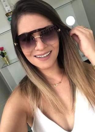 Óculos de sol redondo geek pr65ts