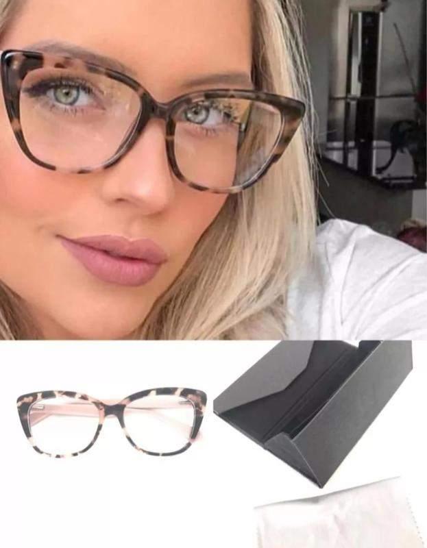 460ff1c48 Óculos feminino acetato estiloso bonita gatinho new - R$ 175.00 (de ...