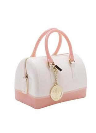 Mini candy bag branca com rosa leopoldine