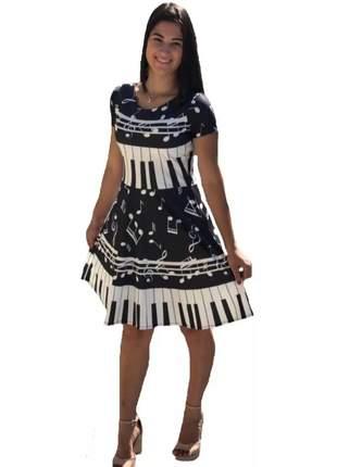 Vestido feminino jovem gode midi top