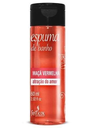 Espuma de banho para hidromassagem maça vermelha - 60 ml