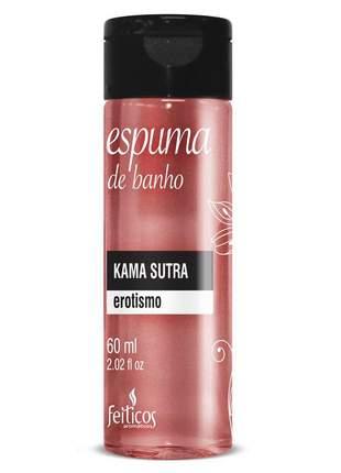 Espuma de banho para hidromassagem kama sutra - 60 ml