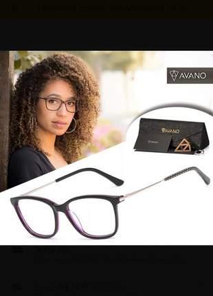 1e3121880 Armação óculos de grau avano 81c - R$ 70.00 (sem grau) #21837 ...