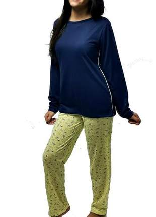 Pijama feminino conjunto maia outono/inverno 009
