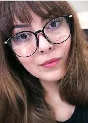 Óculos para grau feminino vintage fino novo redondo original