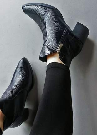 Ankle boot nancy preta