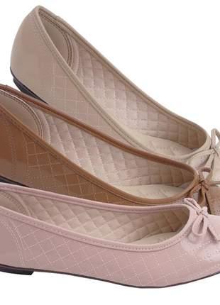 3 pares sapatilhas femininas rasteira moleca moda confortavel