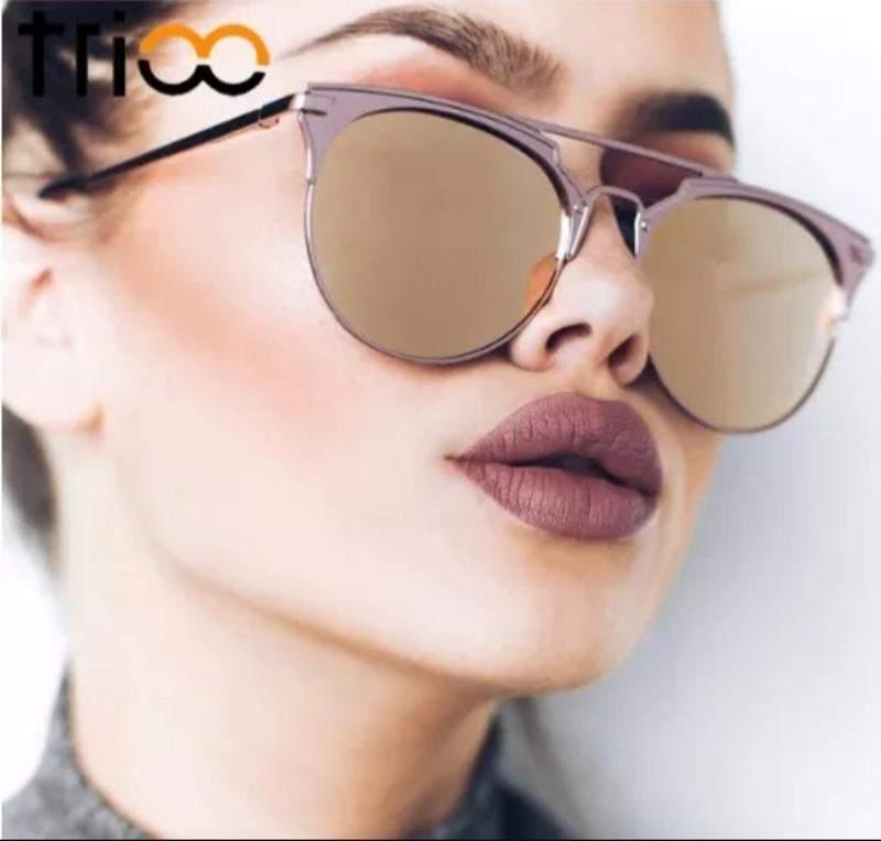 f005f6cda Óculos de sol feminino espelhado starlight moda 2019 - R$ 120.00 ...