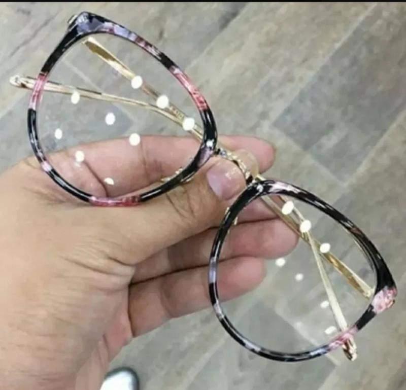 1d71f0cef Óculos nerd redondo retrô florido feminino tartaruga nerd - R ...