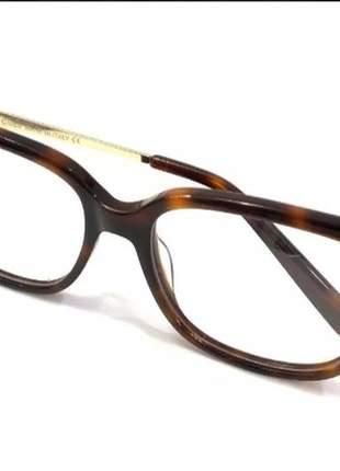 Armação óculos para grau feminino acetato chic lf2707