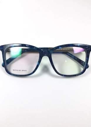 Armação óculos de grau feminino original acetato ale df615