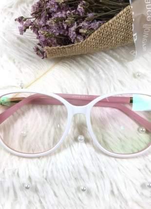 Armação óculos de grau feminino original acetato ale 336 1b c7