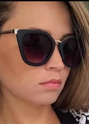 Óculos de sol feminino black cinema oluxo