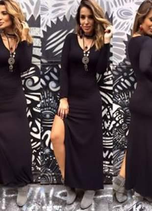 Max dress basiquete preto ou grafite