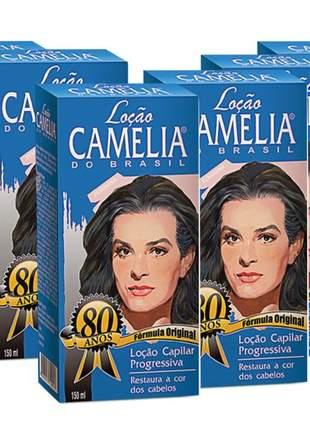 Suissa locao camelia feminina 150ml 06 unidades