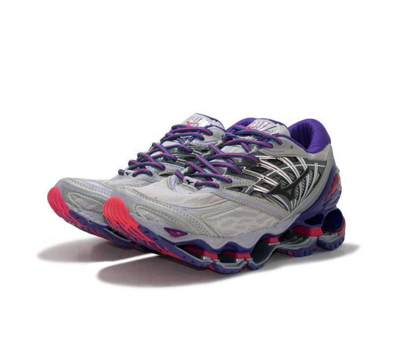 Tênis mizuno wave prophecy 8 cinza e lilás R$ 199.90 | SHAFA O melhor da moda feminina