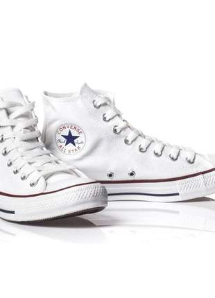 Bota converse all star chuck taylor branco