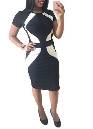 Vestido moda evangélica social ref 90