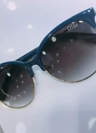 9c835a143 Óculos de sol redondo feminino dior novo n49 - R$ 120.00 #22543 ...