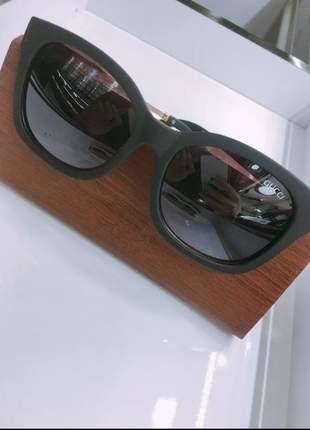 Óculos de sol feminino oval elegante n18